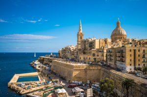 Malta kwietniową porą